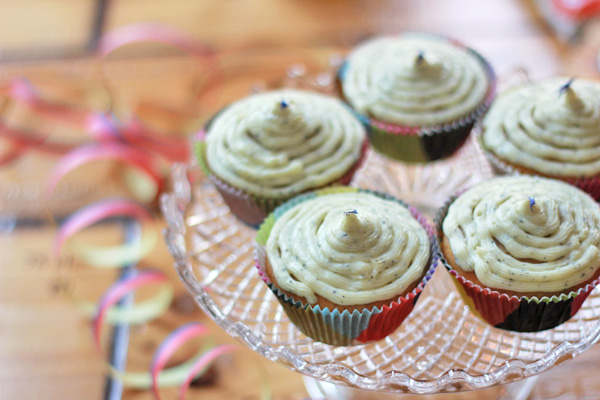 Earl Grey-Cupcakes