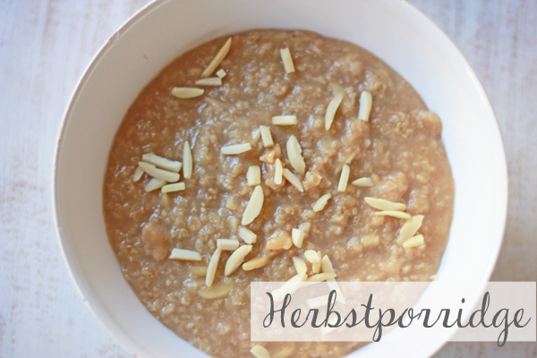 Herbstporridge