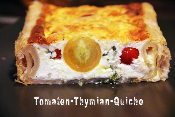 Tomaten-Thymian-Quiche